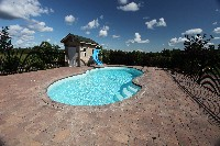 Atlantic Fiberglass Pool in Boca Raton, FL